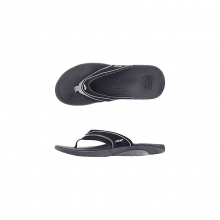 Mens Reef Stinger Black/Silver 13