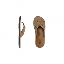 Mens Reef Canisteo Flip Flop Bronze Brown 10 by Reef