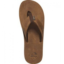 Leather Smoothy Sandal - Men's - Brown In Size