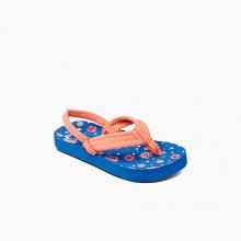 - Little Ahi Girls - 3 4 - Pink Polka Dot by Reef