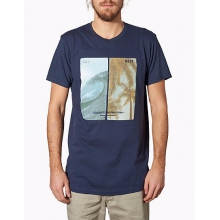 - SINKERS AND BARRELS TEE - small - Indigo