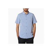 Mens Wash Out SS - Closeout Blue XL