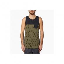 Mens Weekend Tank - Closeout Olive Large by Reef