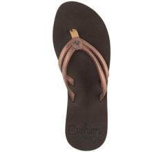 Cushion Twin Flip Flop - Women's-Bronze-6