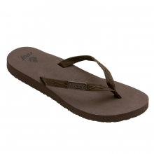 Ginger Sandal Womens - Brown/Brown 7