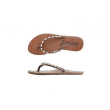 Womens Ugandal 4 Brown/White/Gold 6