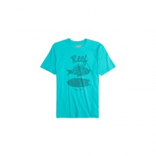 Mens Reef Crusty Fish - Sale Aqua Large