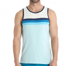 Mens Reef Split Moon Tank Blue XL