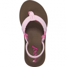 Little Sweetwater Sandals - Toddler: Brown/Hot Pink, 3-4