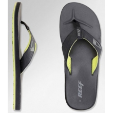 HT Flip Flop - Men's-Black/Lime Green-10