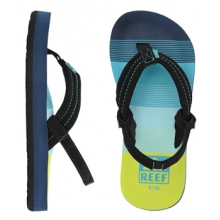 Ahi Flip Flop - Boy's-Grey Shark-3/4 by Reef