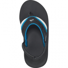Kids Vision Sandals - Kid's: Black/Blue/Candy, 2