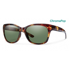 Feature Tortoise ChromaPop Polarized Gray Green by Smith Optics in Ponderay Id