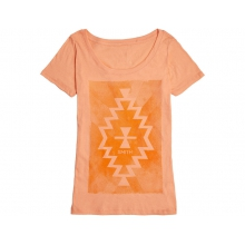 Lasso Women's T-Shirt Vintage Light Orange Extra Large by Smith Optics in Medicine Hat Ab