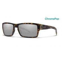 Outlier Matte Camo ChromaPop Polarized Platinum by Smith Optics in Medicine Hat Ab