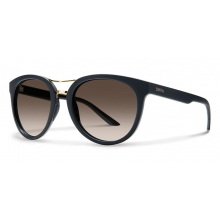 Bridgetown Matte Black Polarized Brown Gradient