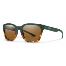 Founder Slim Matte Olive Tortoise Brown by Smith Optics in Cody Wy