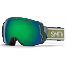 I/O 7 Asian fit Forest Woolrich Green Sol-X Mirror by Smith Optics
