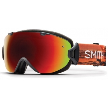 I/OS Asian fit Elena ID Red Sol-X Mirror by Smith Optics