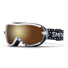 Virtue Asian fit White Dots Gold Sol X Mirror by Smith Optics