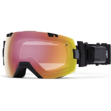 I/OX Turbo Fan Asian fit Black Photochromic Red Sensor by Smith Optics