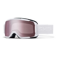 Showcase OTG Asian fit White Eclipse Ignitor Mirror by Smith Optics