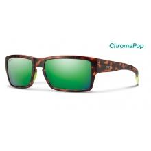 Outlier Matte Tortoise Neon ChromaPop Sun Green Mirror
