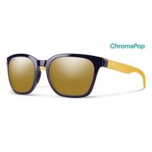 Founder Midnight Matte Honey ChromaPop Polarized Bronze Mirror by Smith Optics