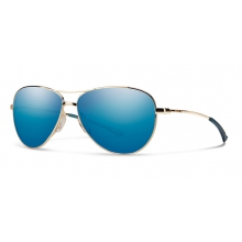Langley Gold Blue Sol-X Mirror by Smith Optics in Cody Wy