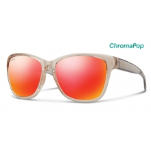 Ramona Desert Crystal Smoke ChromaPop Sun Red Mirror by Smith Optics