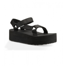Flatform Universal Sandal - Women's - Black In Size by Teva