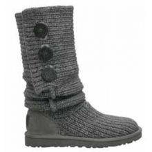 Women's Classic Cardy Boot (#5819) - Grey In Size by Ugg Australia