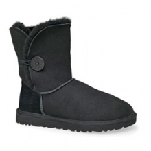 Bailey Button Boots - Women's: Black, 6 by Ugg Australia