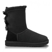 Bailey Bow Boot - Women's - Black In Size: 10 by Ugg Australia