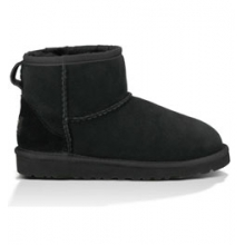 Classic Mini Boot for Kids - Black In Size by Ugg Australia