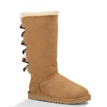 Bailey Bow Tall Boot - Women's-Chestnut-9 by Ugg Australia