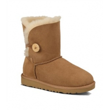 Australia Bailey Button Boot - Toddler's-Chestnut-9 by Ugg Australia