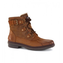 Cecile Boot Women's, Chestnut Leather, 10 by Ugg Australia