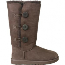 Bailey Button Triplet Boot Women's, Chocolate, 7 by Ugg Australia