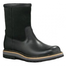 Polson Boot Men's, Black Leather, 12