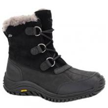 Ostrander Boot Women's, Black Leather, 8 by Ugg Australia