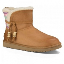 Auburn Serape Boot Women's, Chestnut, 6 by Ugg Australia