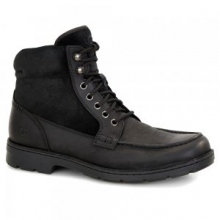 Barrington Boots Men's, Black Leather, 11 by Ugg Australia