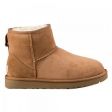 Classic Mini II Boots Women's, Chestnut, 10 by Ugg Australia