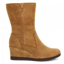 Joely Boots Women's, Chestnut, 6.5 by Ugg Australia