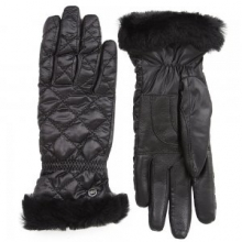 Slim Fit Quilted Smart Glove Women's, Black, L/XL by Ugg Australia