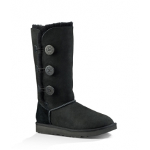 Bailey Button Triplet II Boot - Women's-Black-6 by Ugg Australia