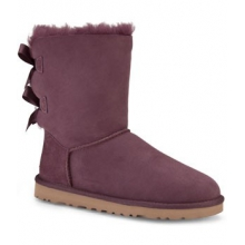 Bailey Bow Boot - Women's-Deep Bordeaux-10 by Ugg Australia