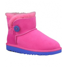 Australia Mini Bailey Button - Toddler's-Fuchsia-8 by Ugg Australia