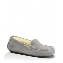 Ansley Slipper - Women's-Light Grey-5 by Ugg Australia